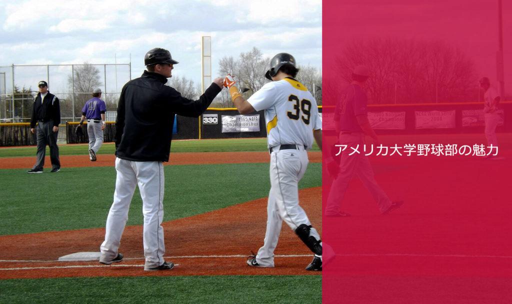 アメリカ大学野球部の魅力